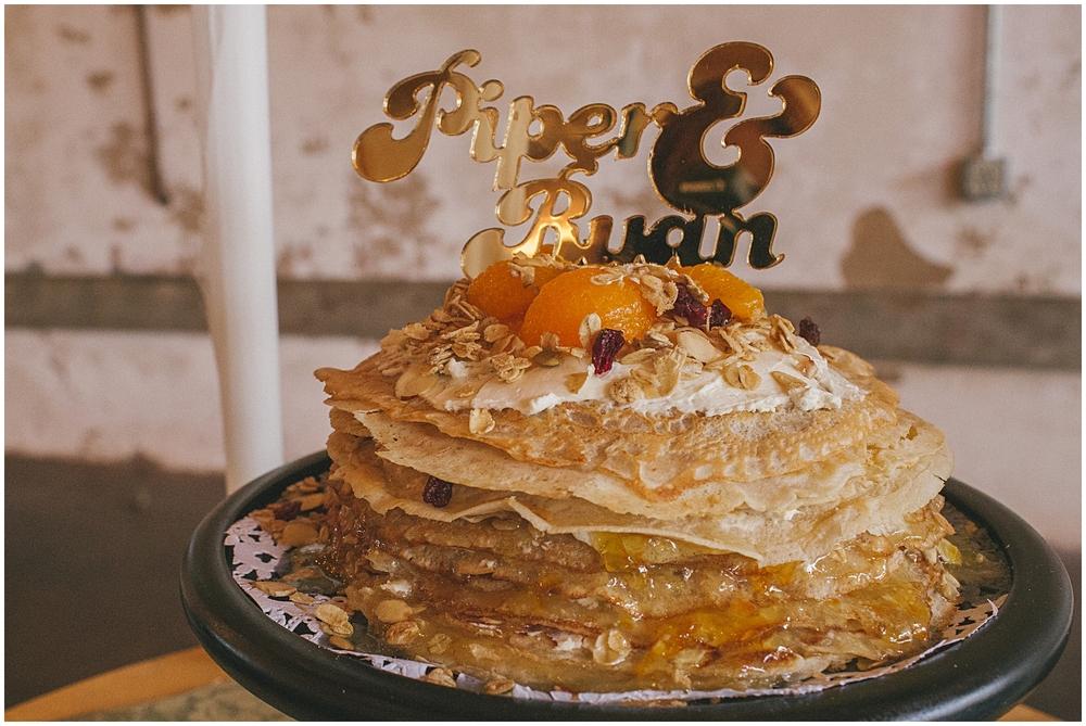 Crepe Wedding Cake | Bespoken