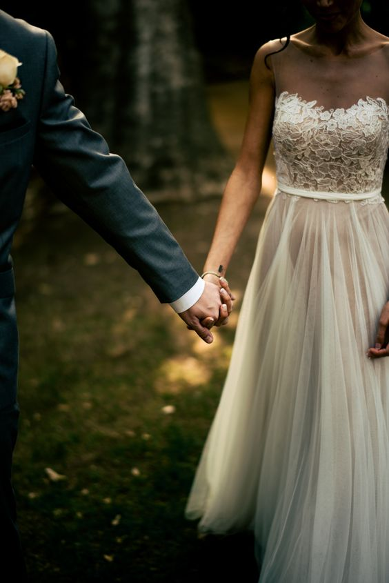 This dreamy photo of a bride and groom captured by  Ryan Scott Welsh