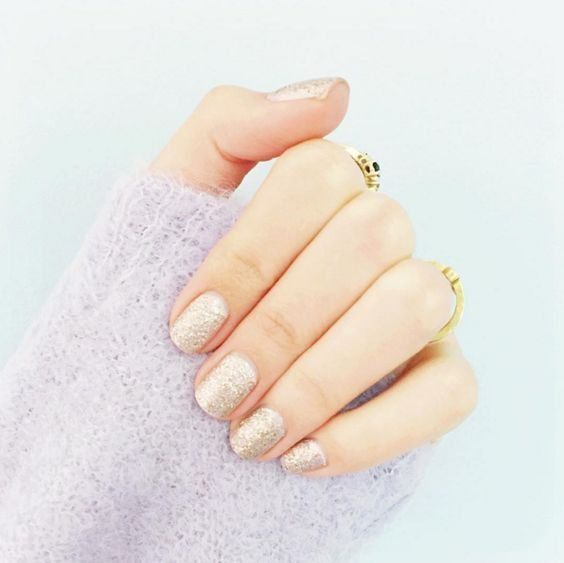 Glitter Nail Polish as seen on  Lauren Conrad