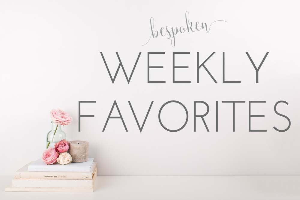 Bespoken's Weekly Wedding Favorites