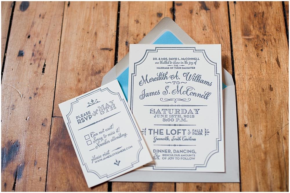 Bespoken Weddings | Letterpress wedding invitations | Romantic, classic, luxury