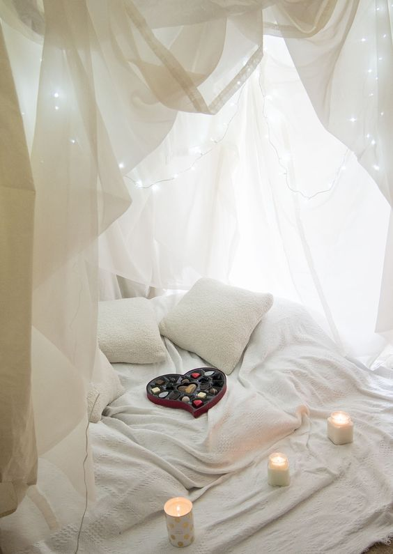 Blanket fort as seen on  Loved by Laura