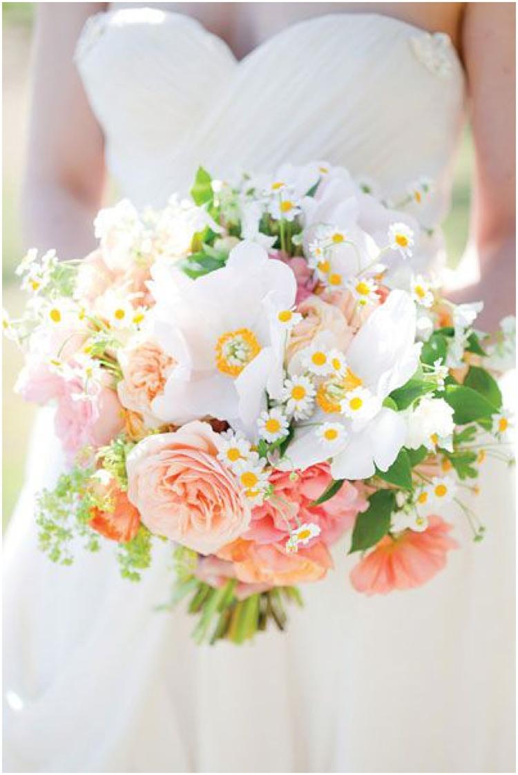 10 Spring Wedding Bouquets Bespoken Weddings Events