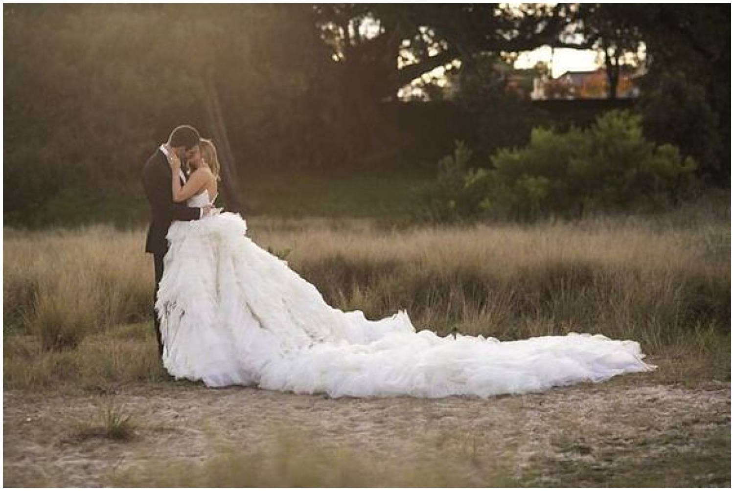 Classic, Glamorous Wedding | Photo by  Blumenthal Photography  | Dress by  George Elsissa | As seen on  ModWedding