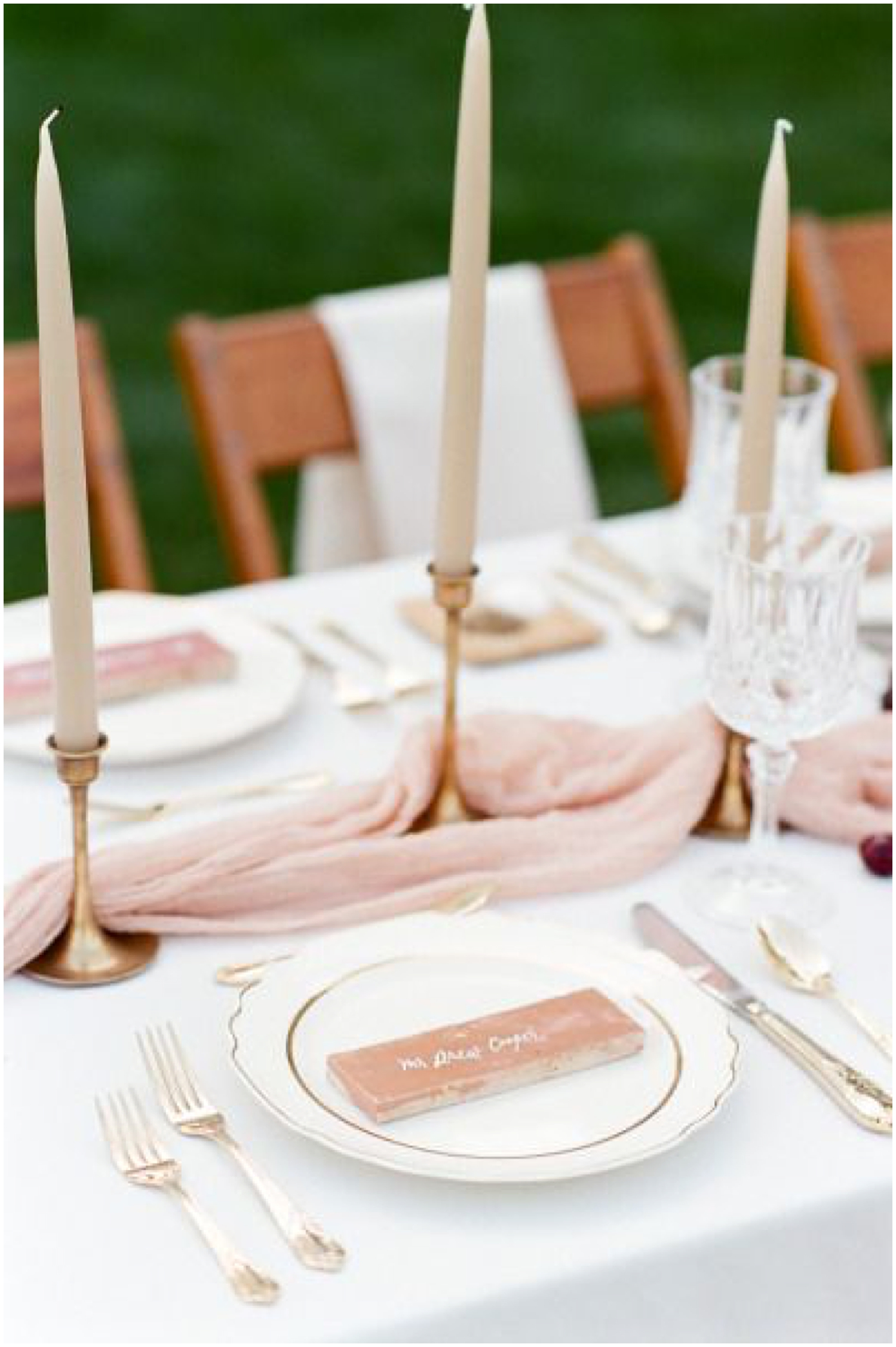Spanish-Inspired Blush Wedding | Photo and Design by  Tamar Gruner  | As seen on  Style Me Pretty