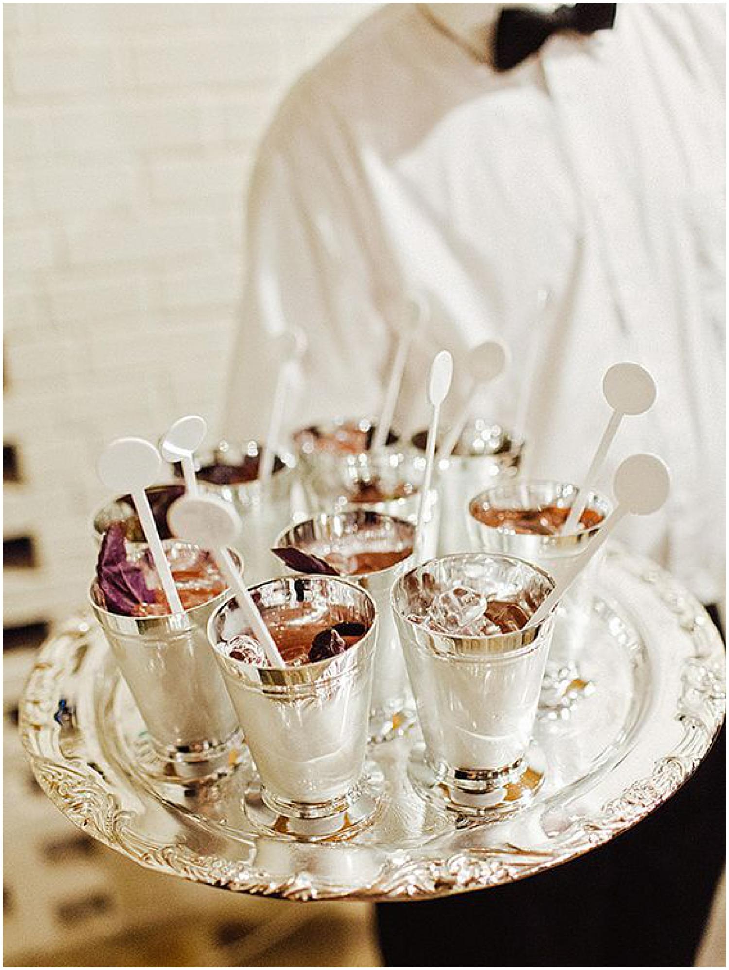 Mint Juleps as seen on  Southern Weddings  | Photo by  Amy Arrington
