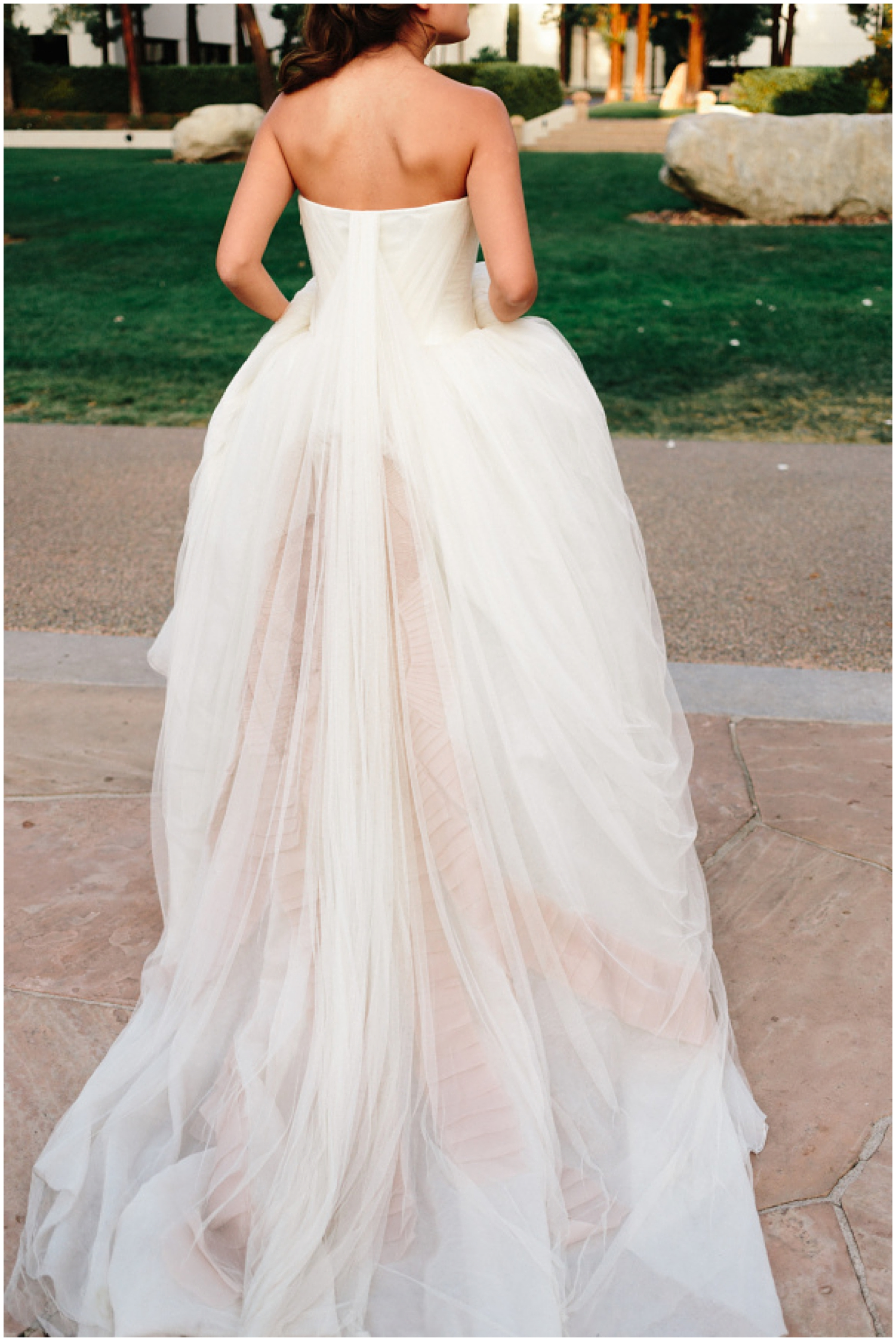 Vera Wang Wedding Dress as seen on  Style Me Pretty  | Photo by  Joel Bedford