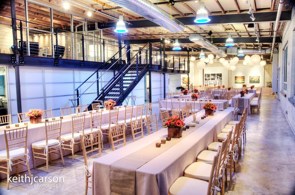 Zen | Modern Event Space in Greenville, SC | Bespoken www.bespokenweddings.com