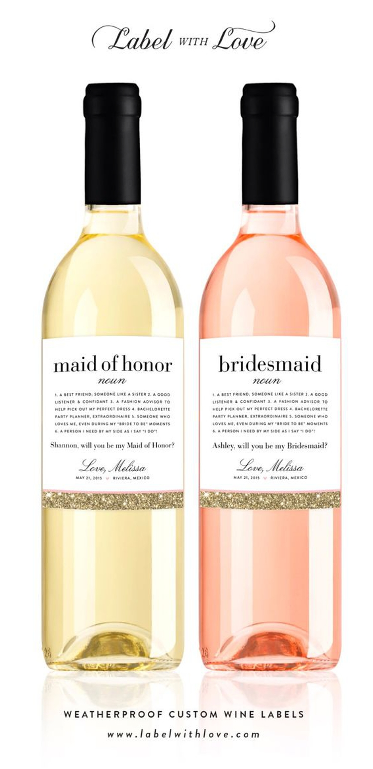 Will You Be My Bridesmaid Gift Ideas Bespoken Weddings Events