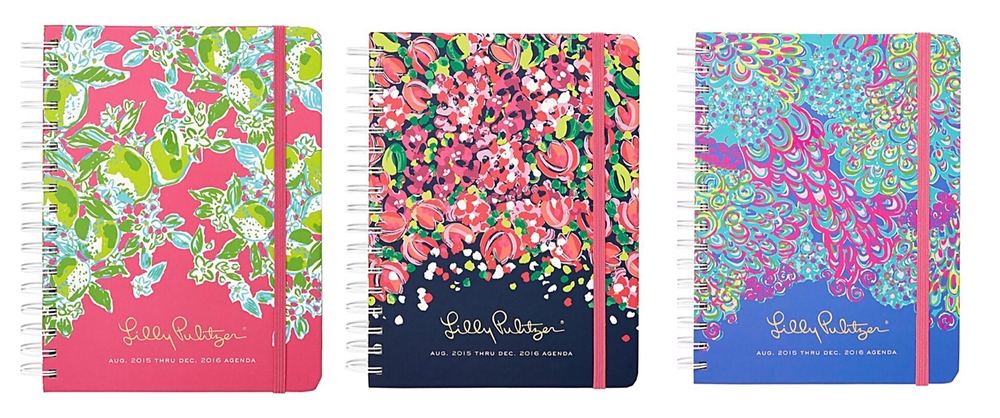 Lilly Pulitzer Planner via  Pretty Preppy