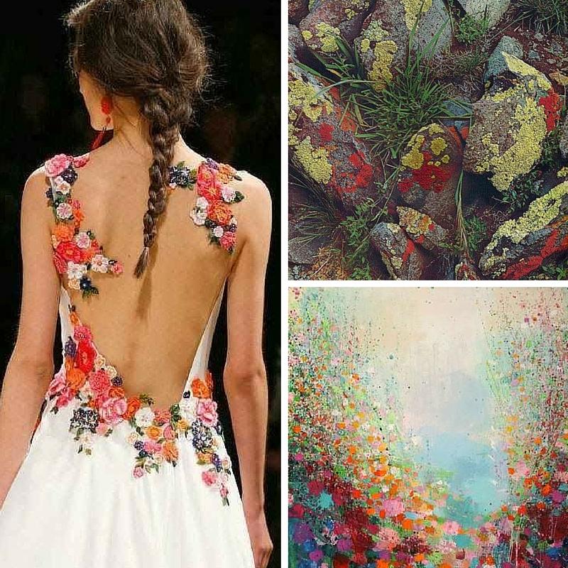 Dress  |  Lichen  |  Painting