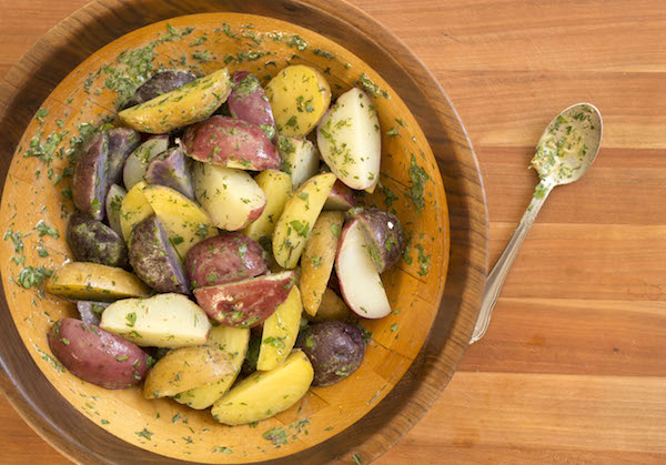 Warm Herb Potato Salad