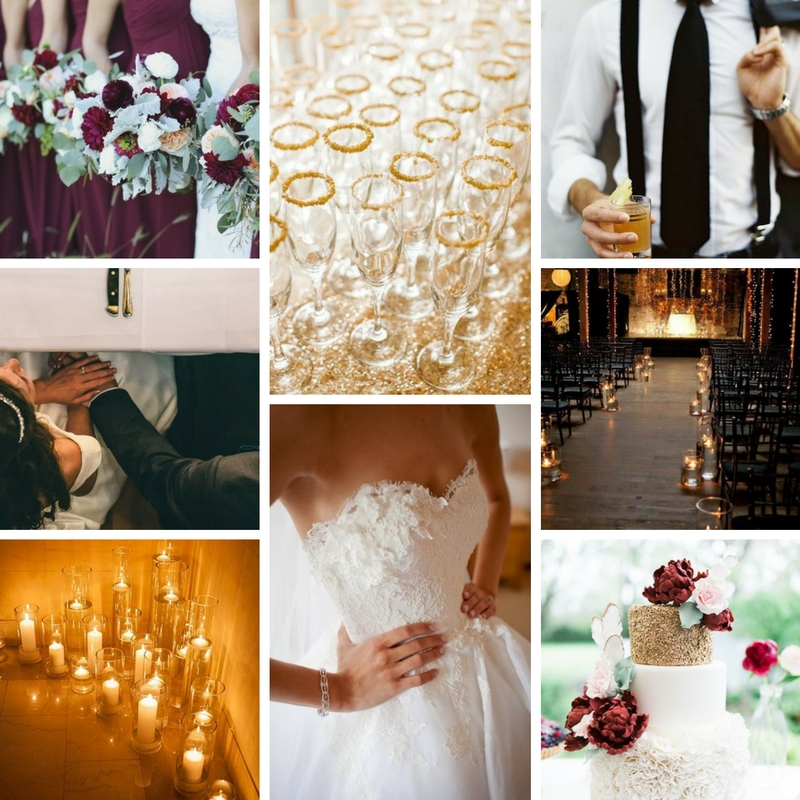 All images pulled from Pinterest and Aisle Planner