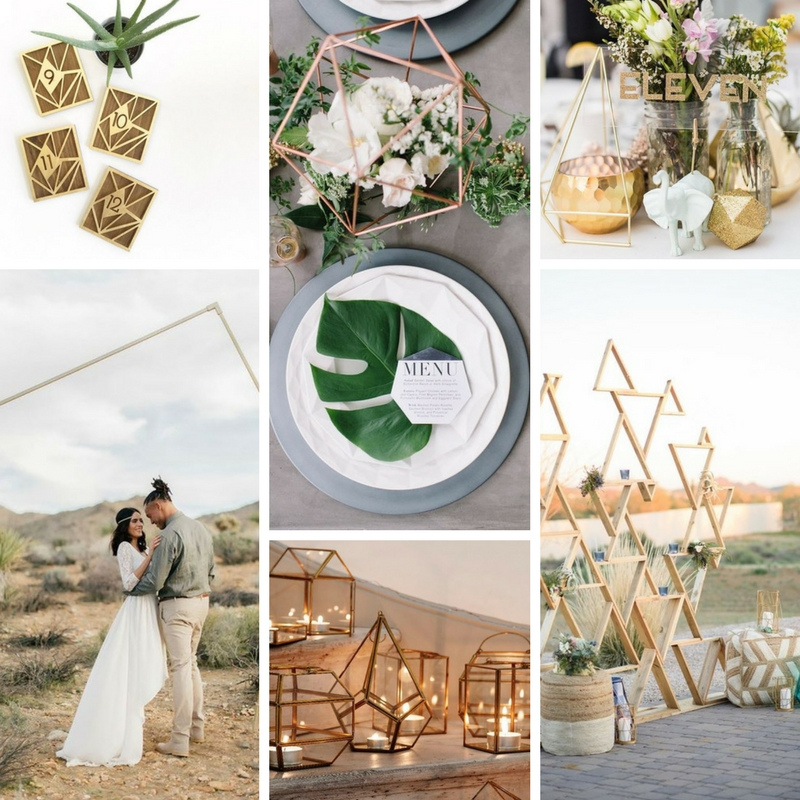 Image Credits (left to right):   Etsy  |  The Bohemian Wedding  |  Wedding Bells  |  Brit + Co  |  Oh Best Day Ever  |  Wedding Colors