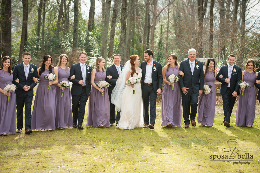 Stephanie and Graham | Greenville SC Wedding | Sposa Bella Photography | Bespoken