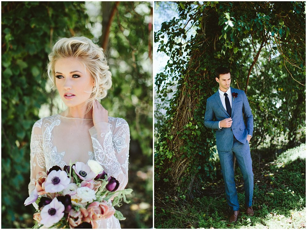 Ocean Inspired Wedding with Purples. Mauves, and Grays | Greenville SC | Bespoken