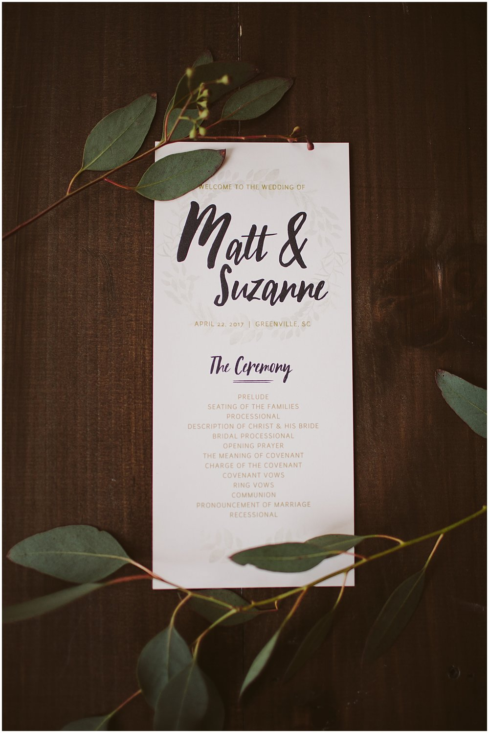 Matt and Suzanne | Southern Bleachery | Greenville SC | Bespoken
