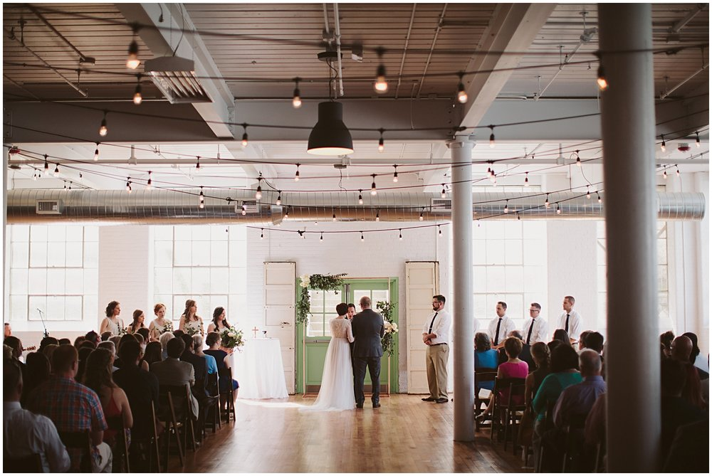 Matt and Suzanne | Southern Bleachery | Greenville SC | Bespoken Weddings