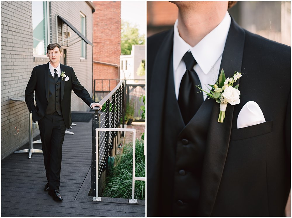 Rachel & Daniel's Modern Greenville Wedding | Bespoken | Red Apple Tree Photography
