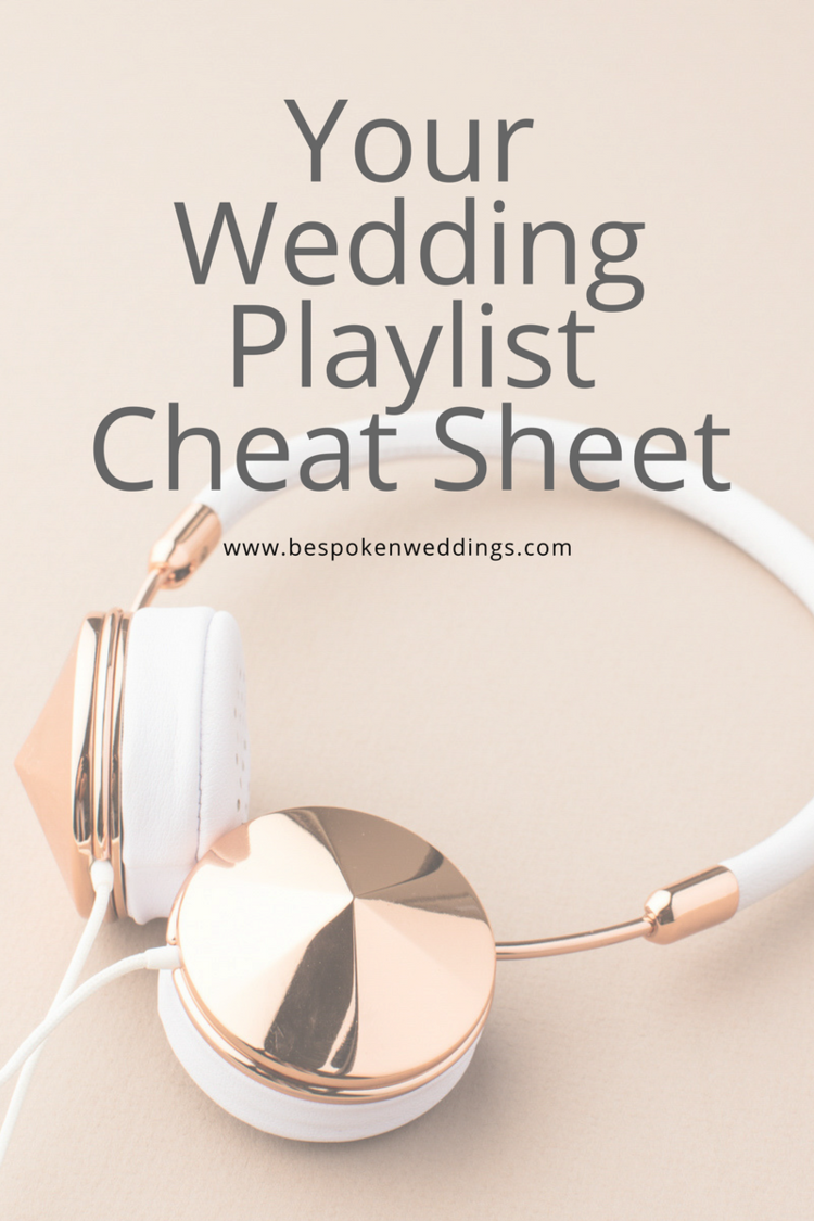 your wedding playlist cheat sheet greenville sc charlotte nc