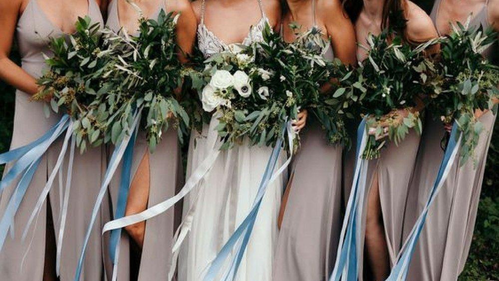 Image:  Cassie Rosch via  Green Wedding Shoes