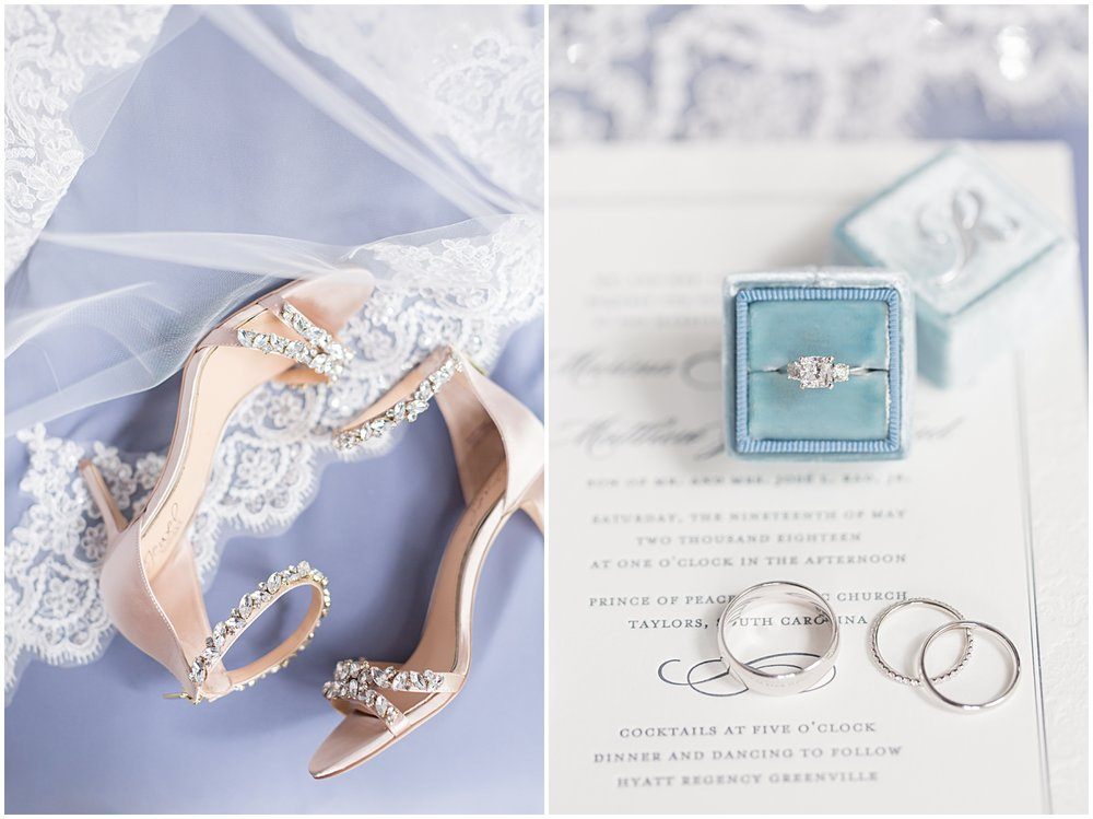 A Dusty Blue Catholic Wedding in Greenville SC | Bespoken | Ryan & Alyssa Photography