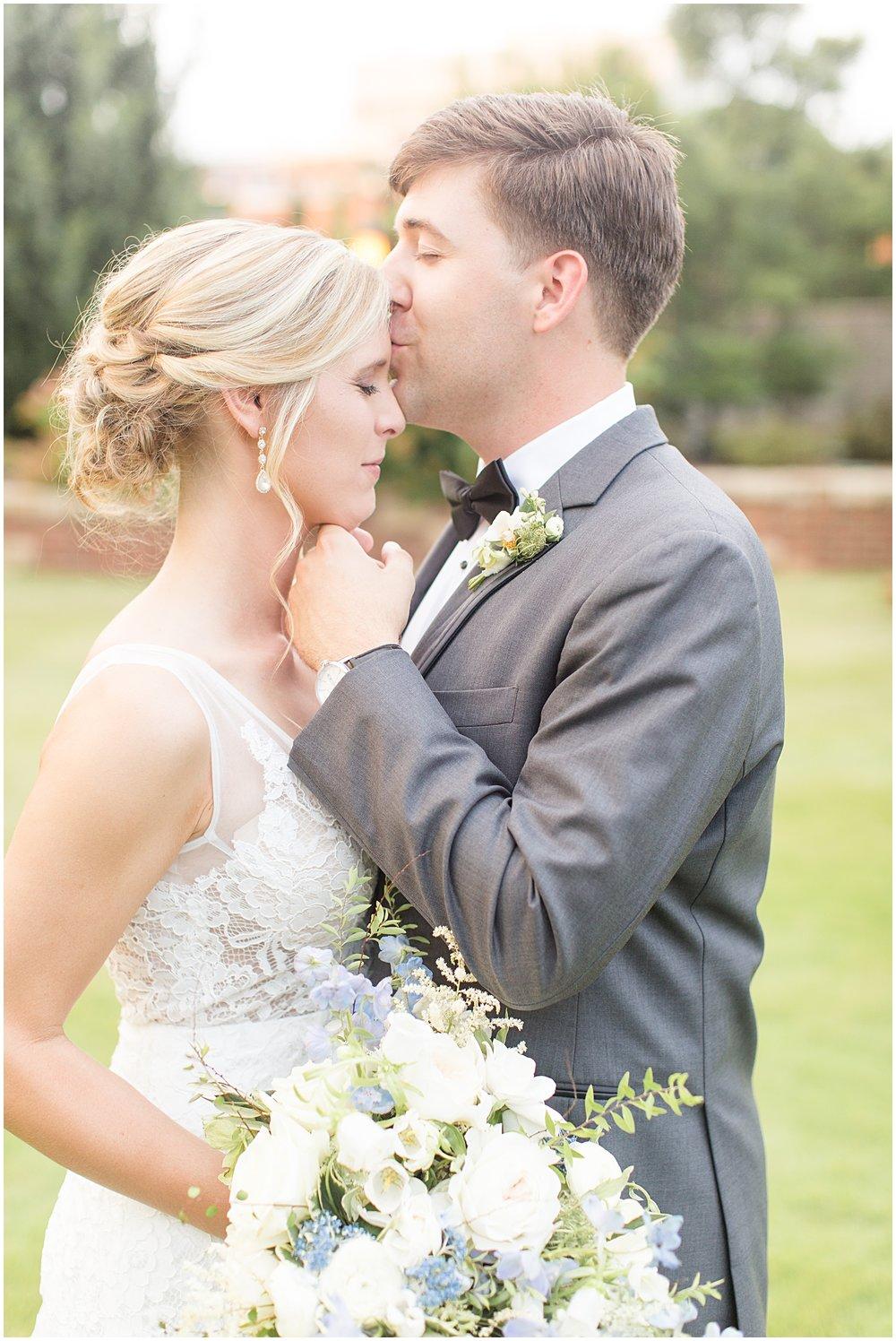 A Shades of Blue Summer Wedding in Spartanburg, SC | Bespoken | Christa Rene Photography | Wedding Planner