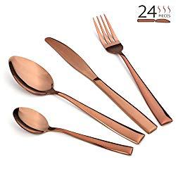 Copper Flatware