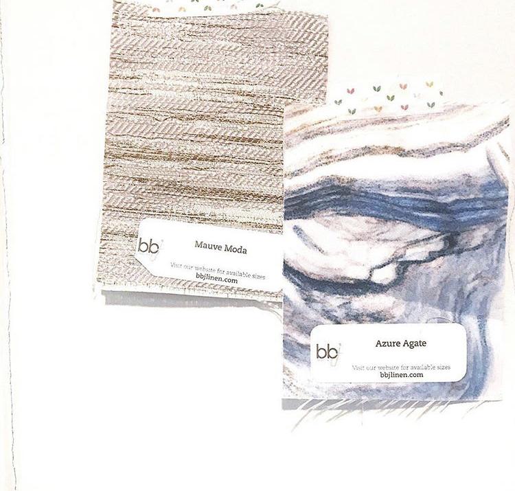 Bespoken Wedding Planning | BBJ Linen Samples