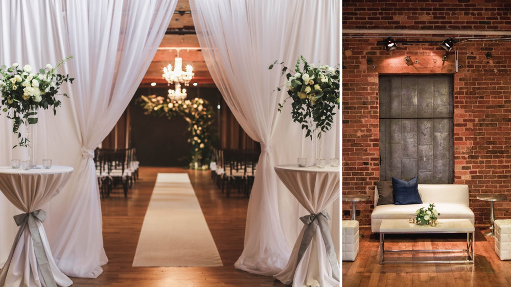 Huguenot Loft | Greenville, SC Wedding Venue | Wedding Planner
