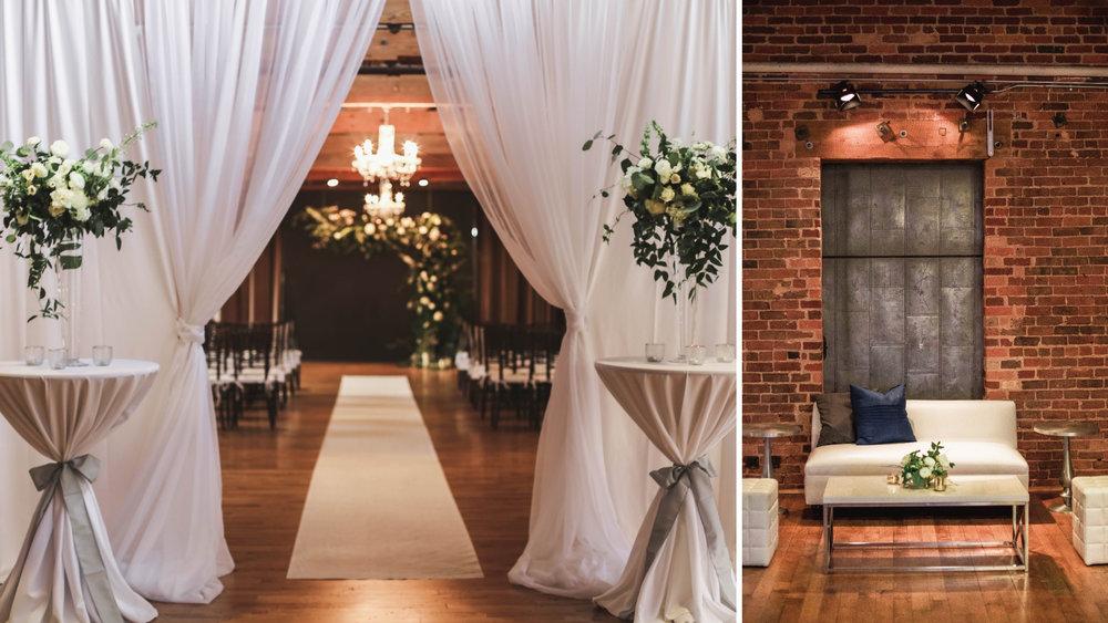 Huguenot Loft | Greenville, SC Wedding Venue | Wedding Planner