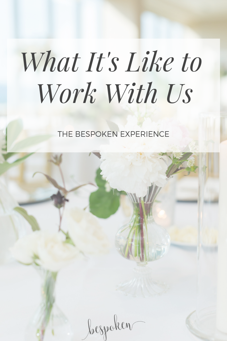 What it's Like to Work With Us | Wedding Planner in Greenville, SC