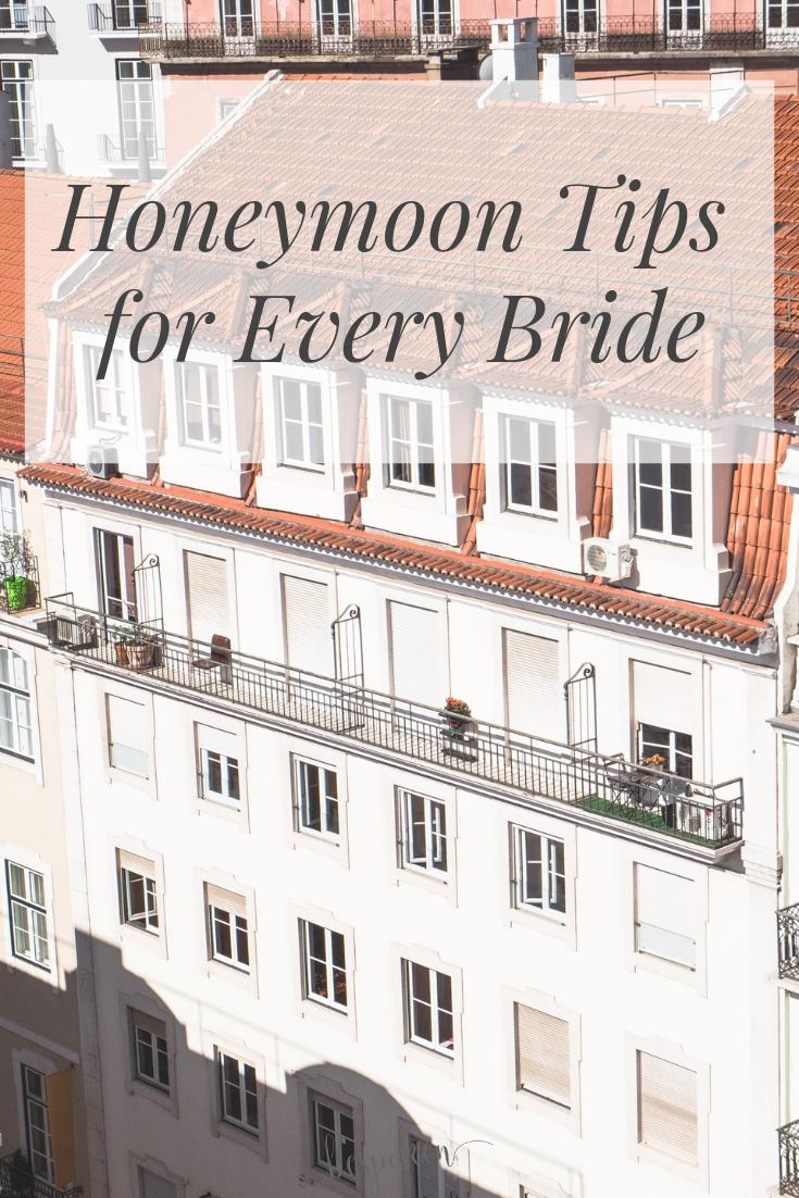 Honeymoon Tips for Every Bride | Bespoken Weddings | Greenville, SC Wedding Planner