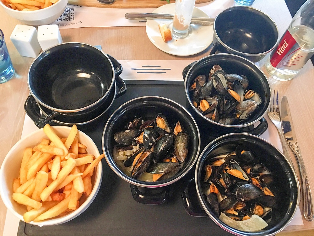 The Trio of Mussels in Luxembourg