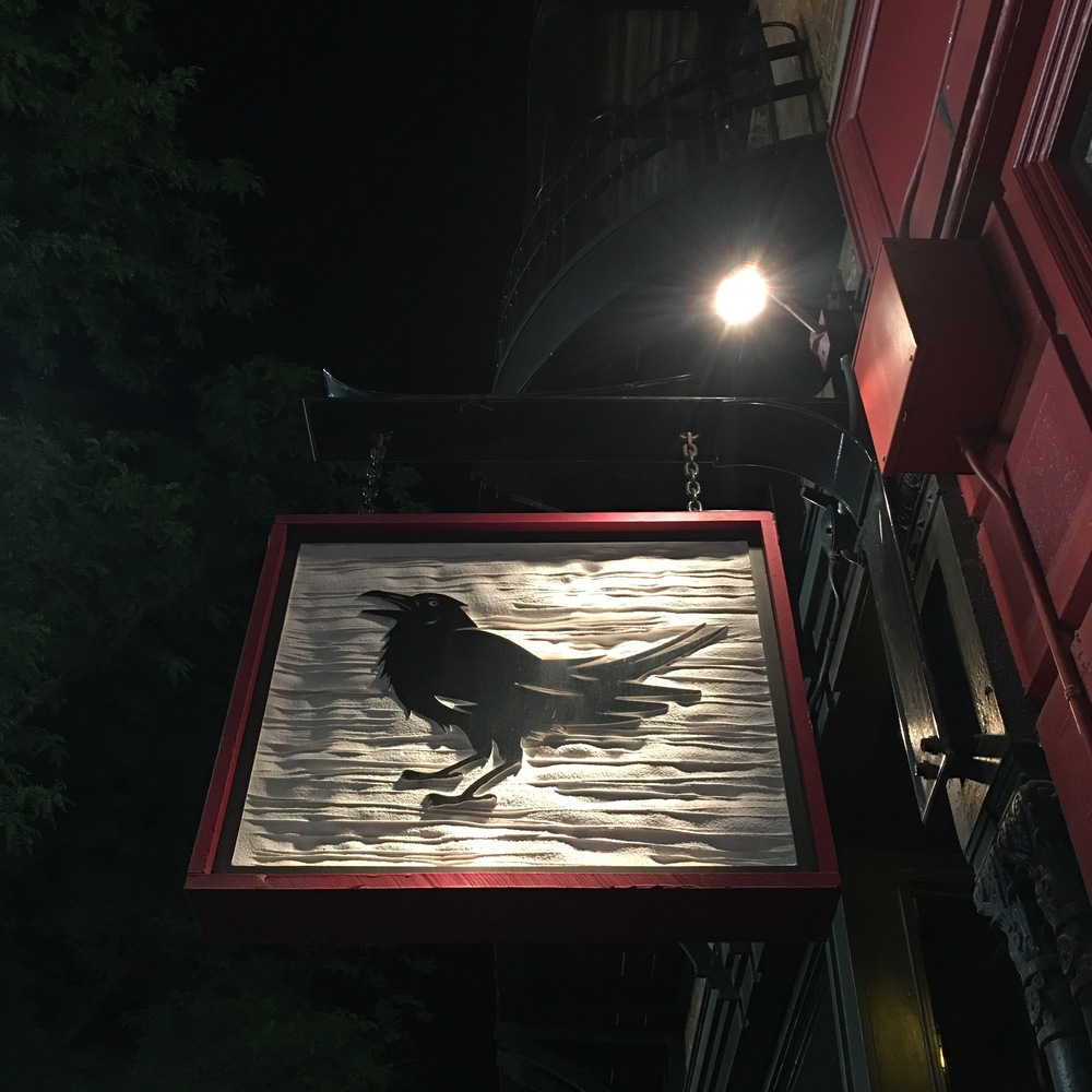 Delicious cocktails at The Raven
