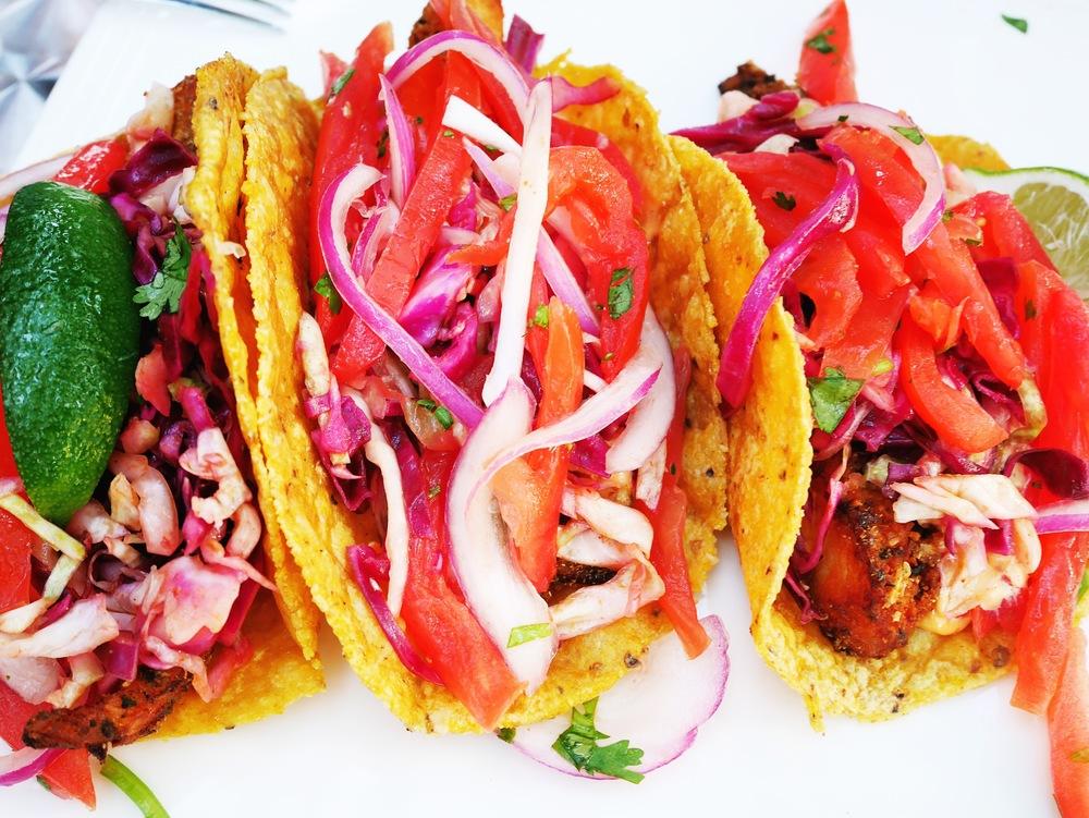 Fish Tacos at Black Pearl