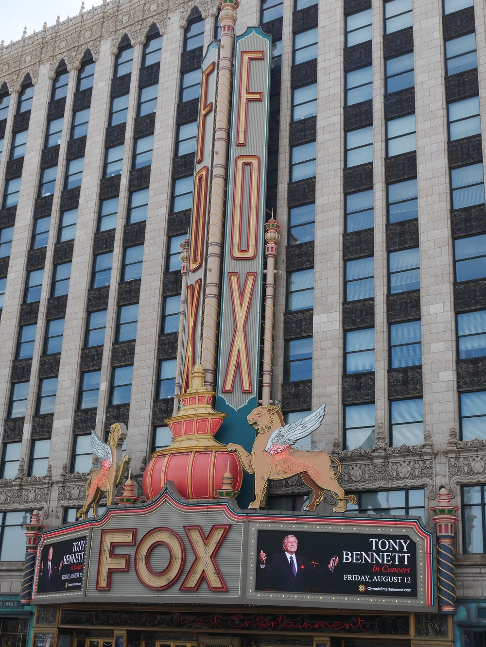 Check out a show at the Fox Theatre