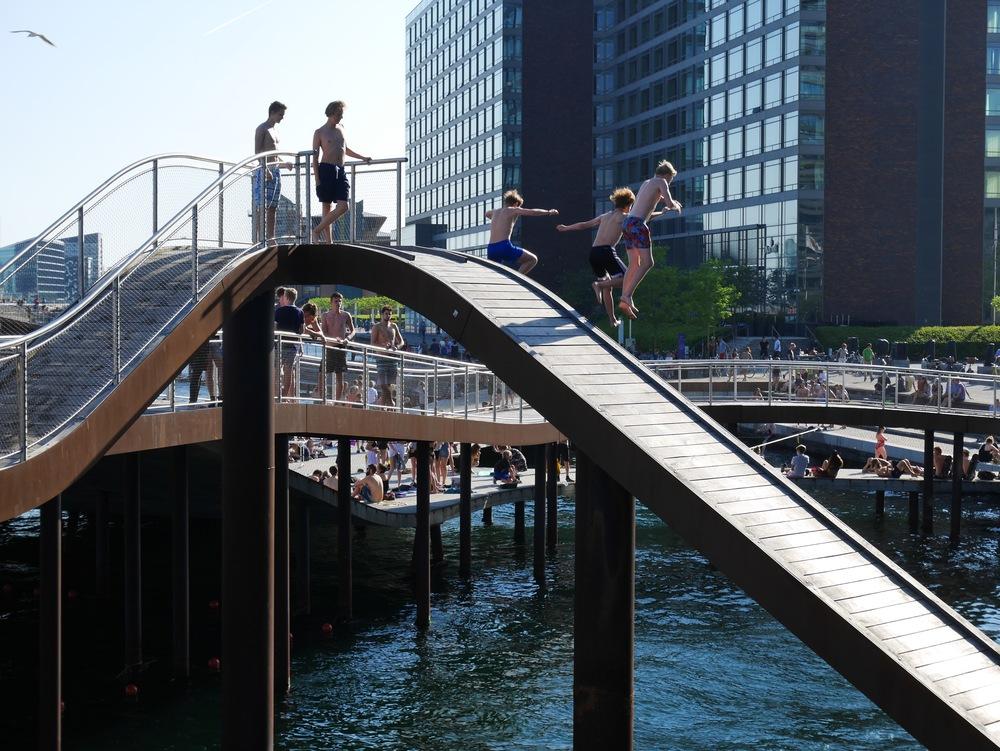 the wave copenhagen harbor