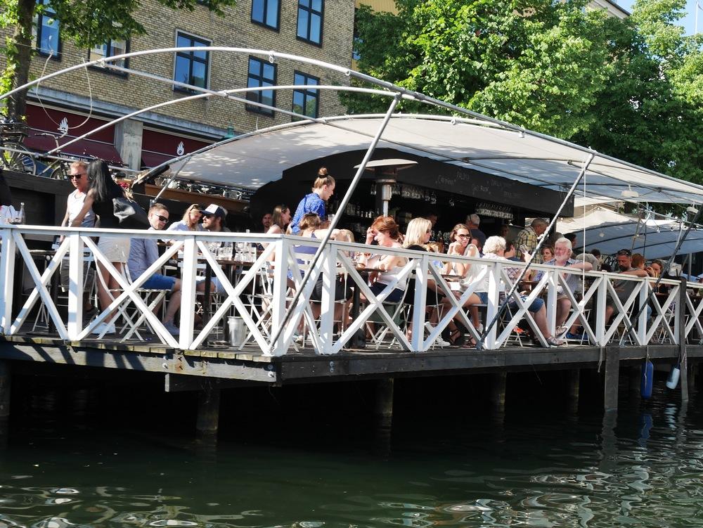 restaurant on the water in copenhagen