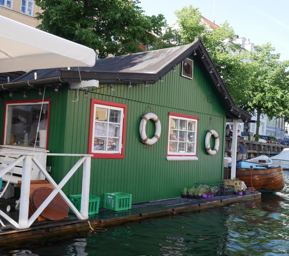 cute little water building