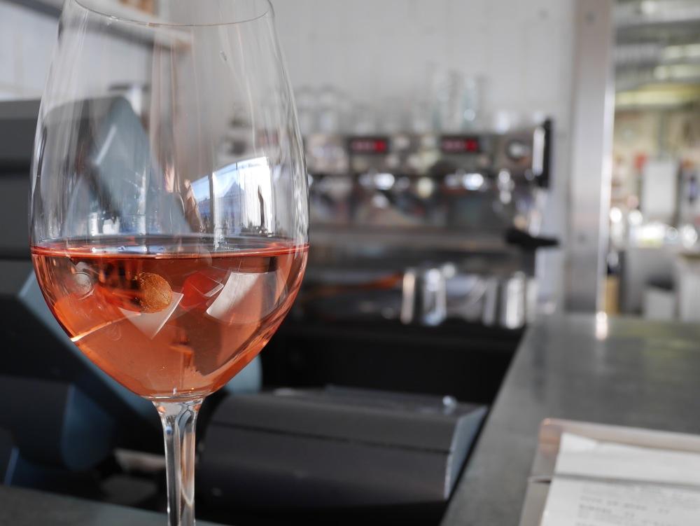 a delightful rosé