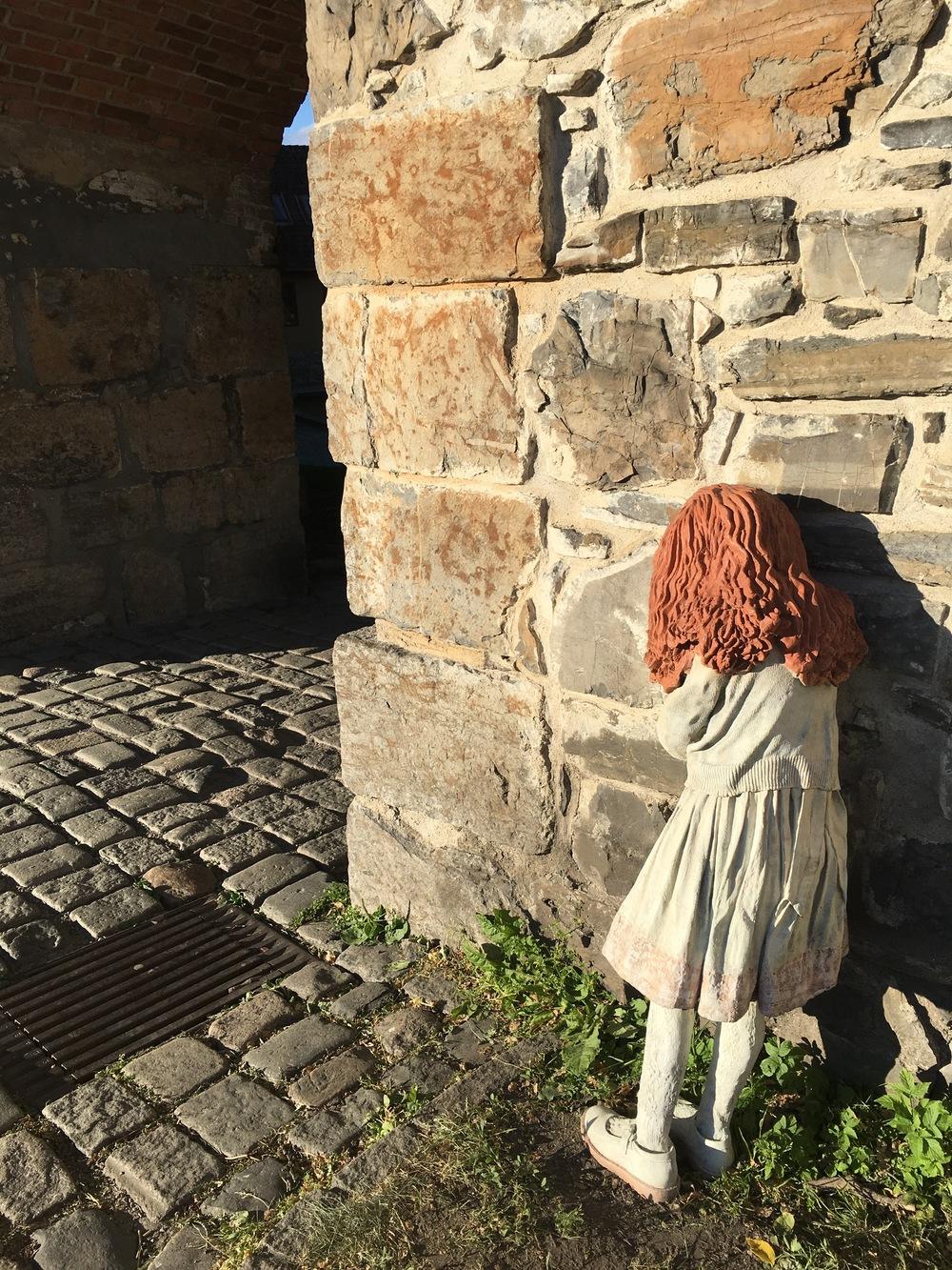 scultpure at akershus fortress