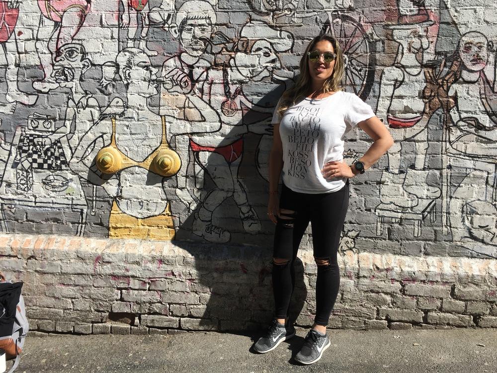 street art in Blå