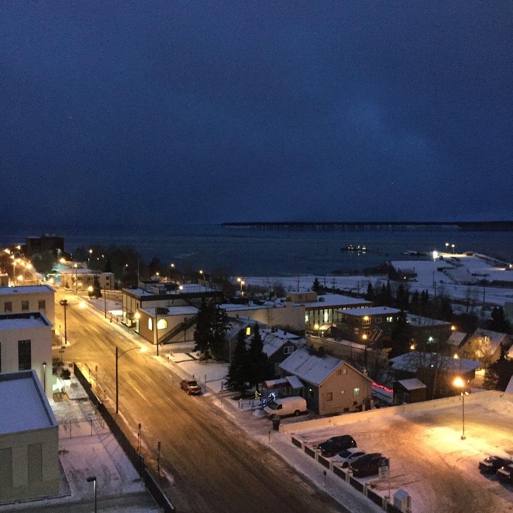 Just before Sunrise Christmas morning
