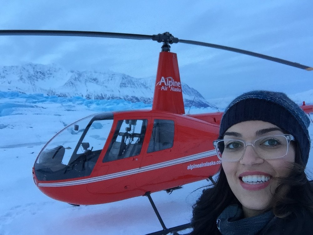 Glacier landing success!