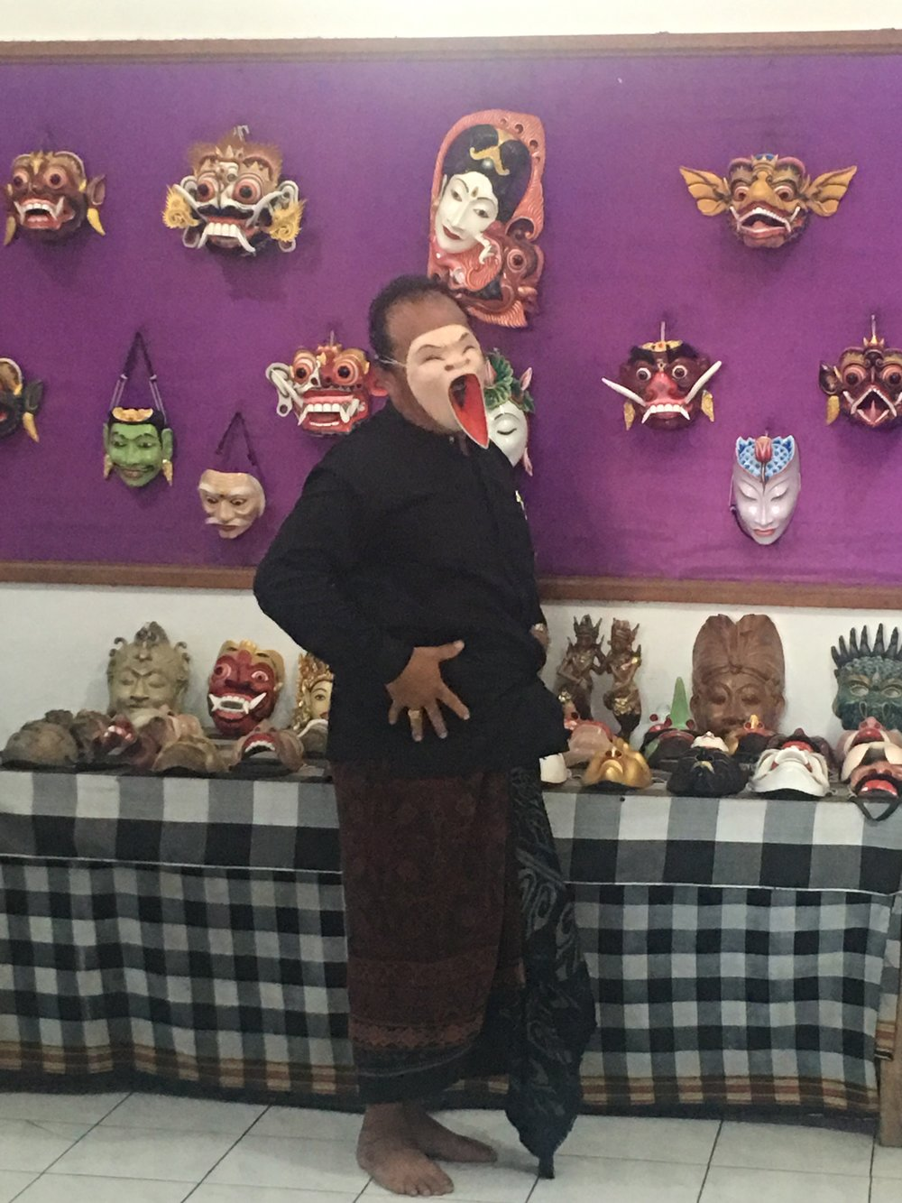 hand crafted masks