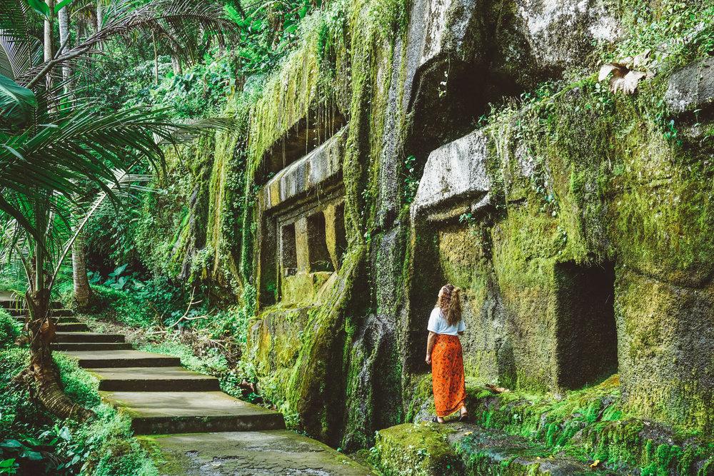 Pura Gunung Kawi Temple - Bali, Indonesia