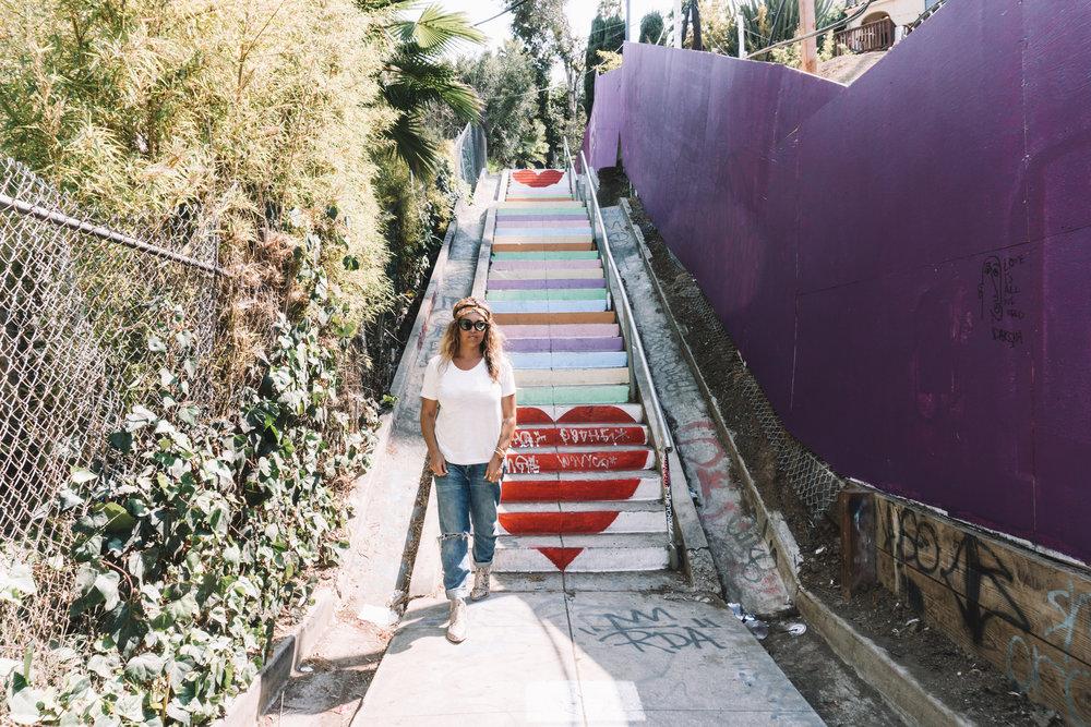Micheltorena Stairs - Silverlake, CA
