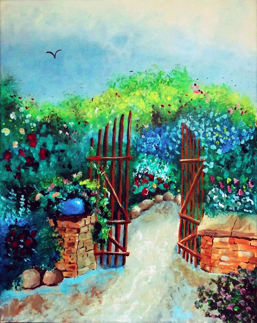 'Garden Solitude'