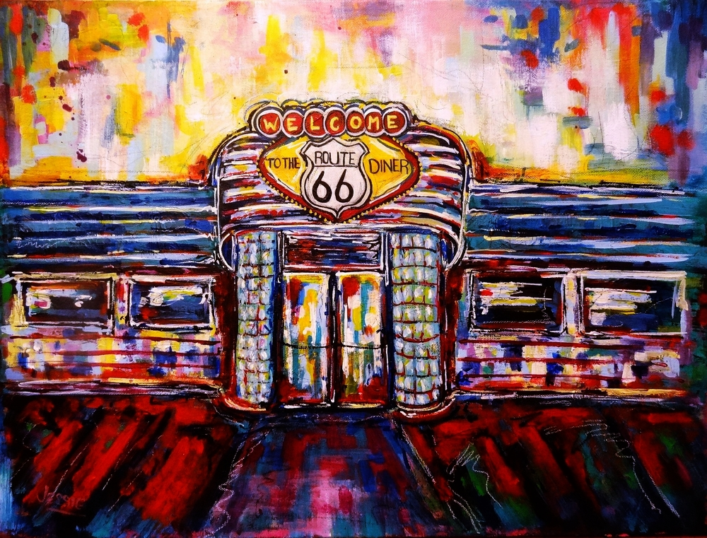 'Route 66 Diner'